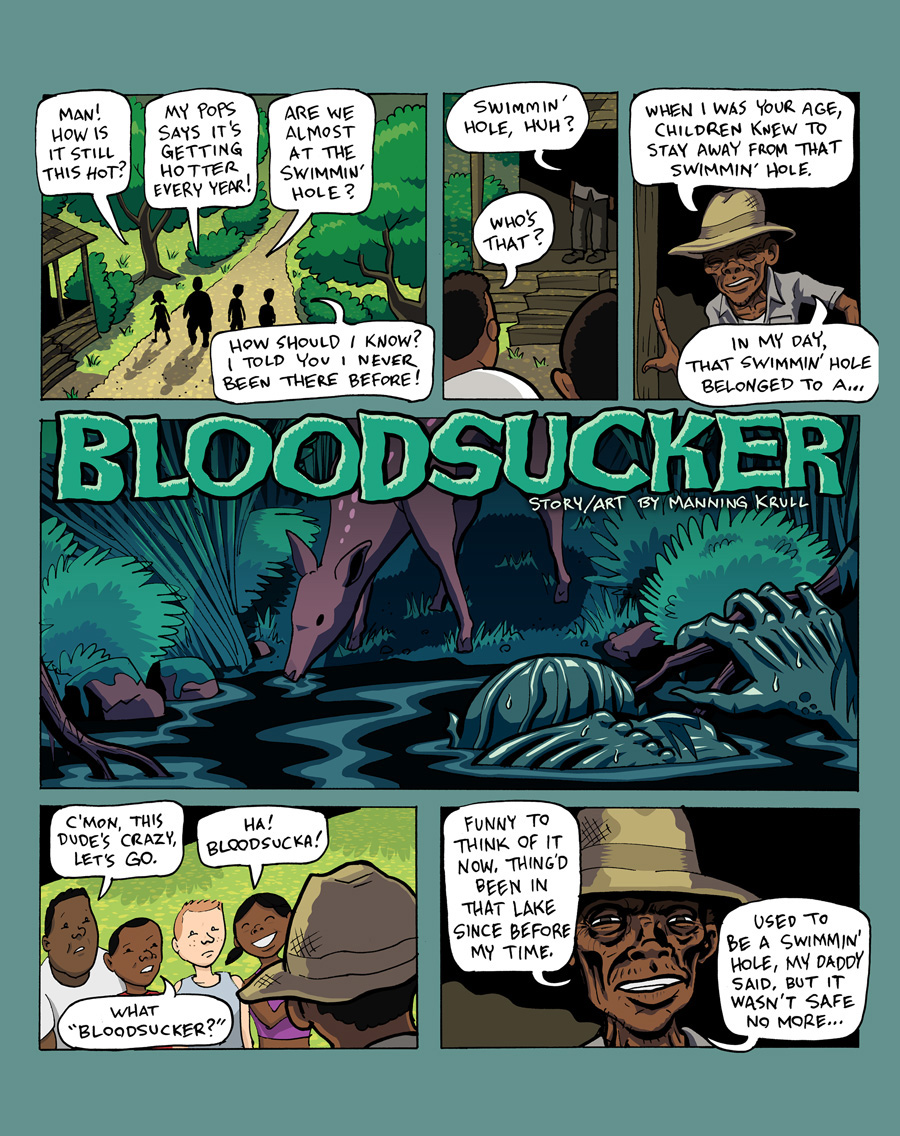 Bloodsucker, by Manning Krull