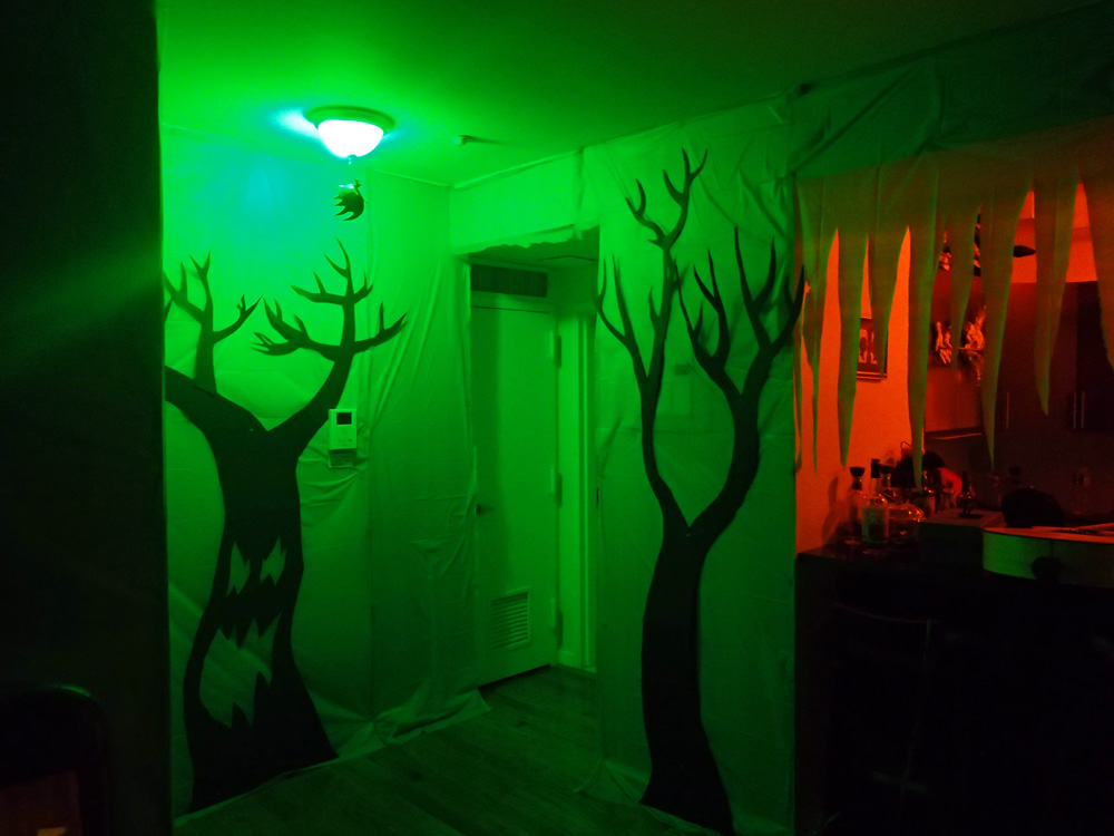 Haunted swamp wall decorations