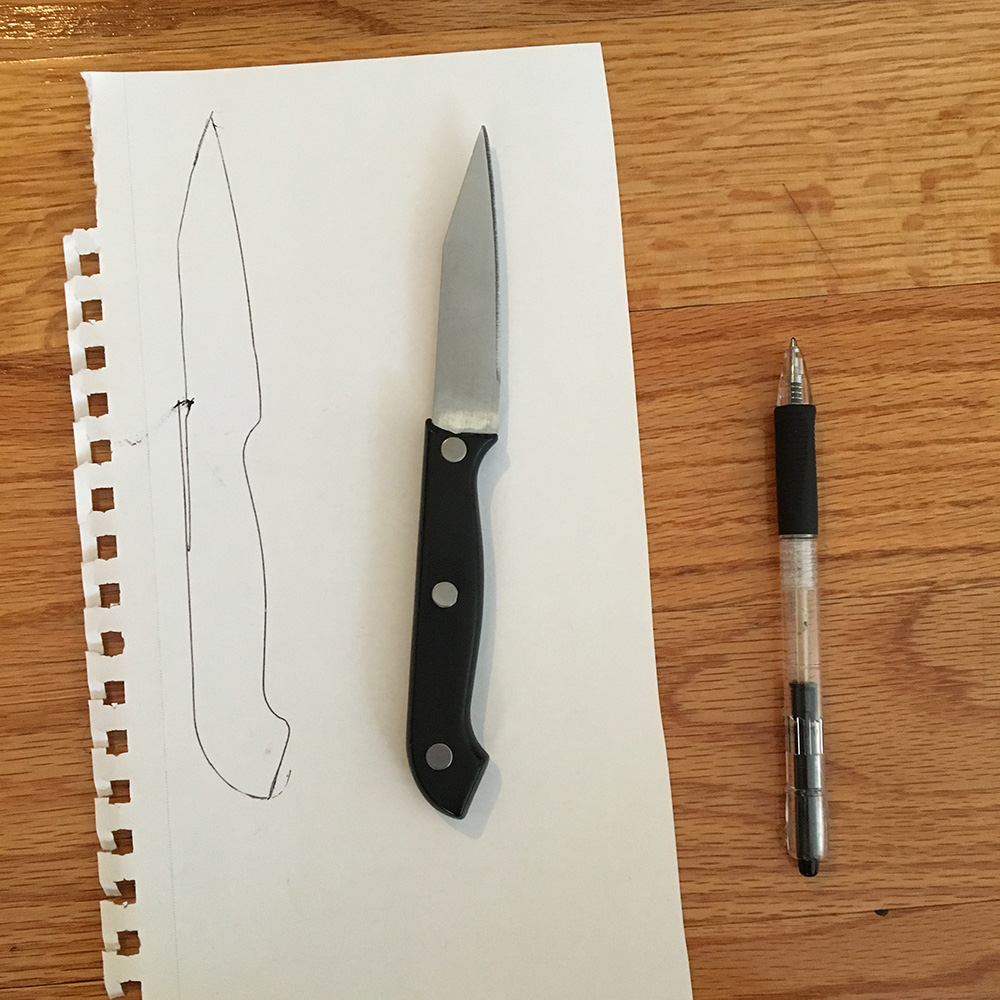 to make kitchen knives cheap and easy diy knife props manning makes stuff