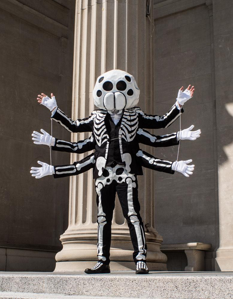 Spider skeleton costume - finished!